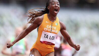 Photo de JO de Tokyo (Athlétisme): Marie-José Ta Lou bat le record d'Afrique du 100 m