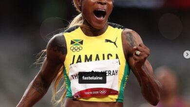 Photo de Jeux Olympiques (Athletisme): Elaine Thompson-Herah, reine du 100 m, Marie-Josée Ta Lou termine au pied du podium
