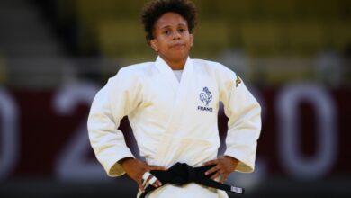 Photo de Jo 2020 : La judokate Amandine Buchard, menacée de mort